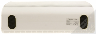 Forever BS-610 Bluetooth reproduktor s LED efekty a FM rádiem bílá (white) zezdola