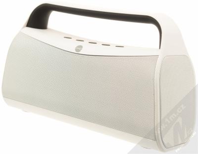 Forever BS-610 Bluetooth reproduktor s LED efekty a FM rádiem bílá (white)