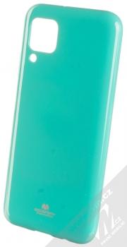 Goospery Jelly Case TPU ochranný kryt pro Huawei P40 Lite mátově zelená (mint green)
