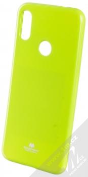 Goospery Jelly Case TPU ochranný silikonový kryt pro Xiaomi Redmi Note 7 limetkově zelená (lime green)
