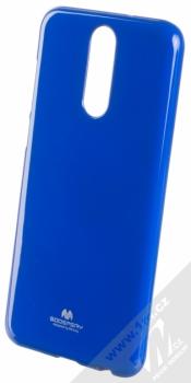 Goospery Jelly Case TPU ochranný silikonový kryt pro Huawei Mate 10 Lite tmavě modrá (dark blue)