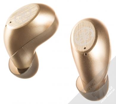 Guess TrueWireless Bluetooth Earphones módní stereo sluchátka zlatá (gold)