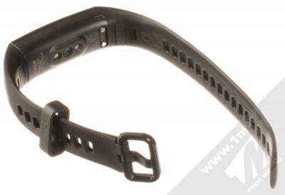 Honor Band 5 chytrý fitness náramek černá (meteorite black) rozepnuté zezadu
