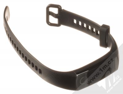 Honor Band 5 chytrý fitness náramek černá (meteorite black) rozepnuté