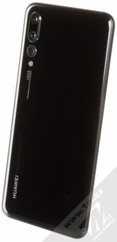 HUAWEI P20 PRO černá (black) šikmo zezadu