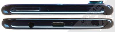 Huawei P30 Lite modrá (peacock blue) seshora a zezdola