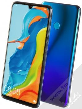 Huawei P30 Lite modrá (peacock blue)