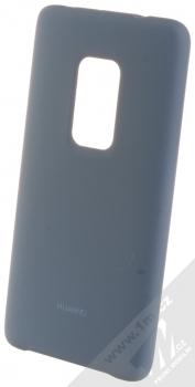Huawei Silicone Car Case originální ochranný kryt pro Huawei Mate 20 světle modrá (light blue)