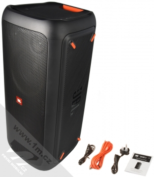 JBL PARTYBOX 300 výkonný Bluetooth reproduktor se světelnými efekty černá (black) balení