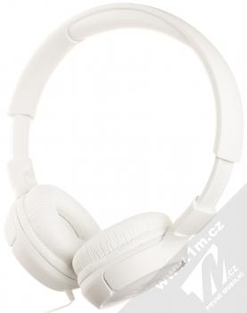JBL TUNE 500 stereo sluchátka bílá (white) maximální náhlavník