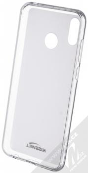 Kisswill TPU Open Face silikonové pouzdro pro Huawei Nova 3 bílá průhledná (white) zepředu