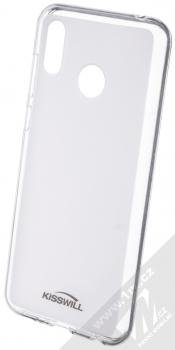 Kisswill TPU Open Face silikonové pouzdro pro Huawei Nova 3 bílá průhledná (white)