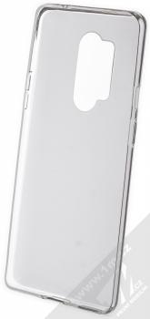 Kisswill TPU Open Face silikonové pouzdro pro OnePlus 8 Pro bílá průhledná (white) zepředu