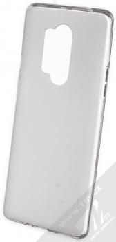 Kisswill TPU Open Face silikonové pouzdro pro OnePlus 8 Pro bílá průhledná (white)