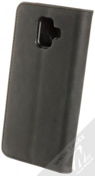 Krusell Sunne FolioWallet flipové pouzdro pro Samsung Galaxy A6 (2018) černá (vintage black) zezadu