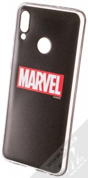 Marvel Logo 002 TPU ochranný silikonový kryt s motivem pro Huawei P Smart (2019) černá (black)