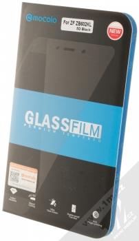 Mocolo Premium 5D Tempered Glass ochranné tvrzené sklo na kompletní displej pro Asus ZenFone Max Pro (ZB602KL/M1) černá (black) krabička