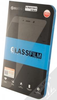 Mocolo Premium 5D Tempered Glass ochranné tvrzené sklo na kompletní displej pro Xiaomi Redmi Note 8 černá (black) krabička