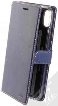 Molan Cano Issue Diary flipové pouzdro pro Apple iPhone XS Max tmavě modrá (navy blue)