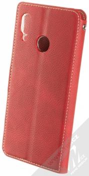 Molan Cano Issue Diary flipové pouzdro pro Huawei Nova 3 červená (red) zezadu