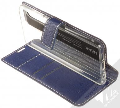 Molan Cano Issue Diary flipové pouzdro pro Huawei P30 tmavě modrá (navy blue) stojánek