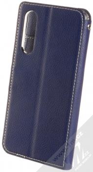 Molan Cano Issue Diary flipové pouzdro pro Huawei P30 tmavě modrá (navy blue) zezadu