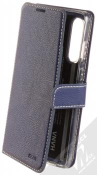 Molan Cano Issue Diary flipové pouzdro pro Huawei P30 tmavě modrá (navy blue)