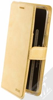 Molan Cano Issue Diary flipové pouzdro pro Samsung Galaxy J6 Plus (2018) zlatá (gold)