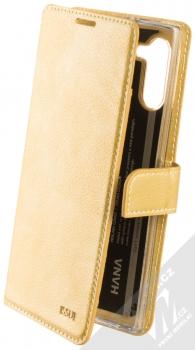 Molan Cano Issue Diary flipové pouzdro pro Samsung Galaxy Note 10 zlatá (gold)