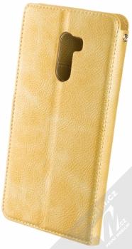 Molan Cano Issue Diary flipové pouzdro pro Xiaomi Pocophone F1 zlatá (gold) zezadu