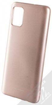 Molan Cano Jelly Case TPU ochranný kryt pro Samsung Galaxy A51 růžově zlatá (rose gold)