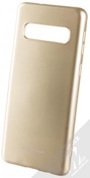 Molan Cano Jelly Case TPU ochranný kryt pro Samsung Galaxy S10 zlatá (gold)