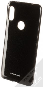 Molan Cano Jelly Case TPU ochranný kryt pro Xiaomi Redmi Note 6 Pro černá (black)