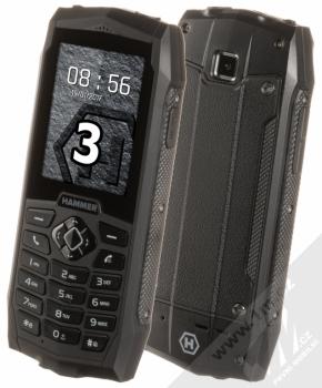MYPHONE HAMMER 3 černá (black)