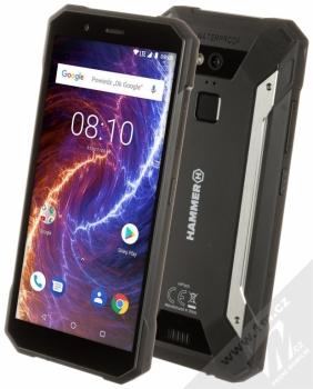 MyPhone Hammer Energy 18x9 + mobilní telefon MyPhone Hammer 3 v ceně 1190Kč ZDARMA černá (black)