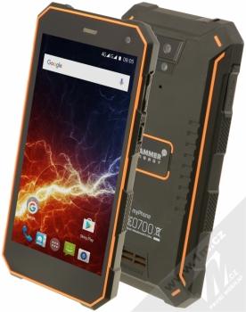 MyPhone Hammer Energy LTE + POWERBANKA LENOVO MP1060 10000mAh v ceně 599Kč ZDARMA oranžová (orange)