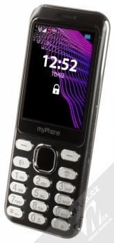 MyPhone Maestro černá (black) šikmo zepředu