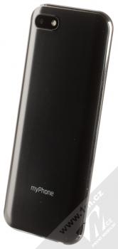 MyPhone Maestro černá (black) šikmo zezadu