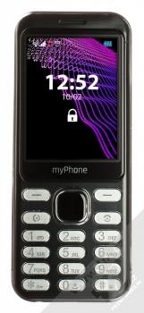 MyPhone Maestro černá (black) zepředu