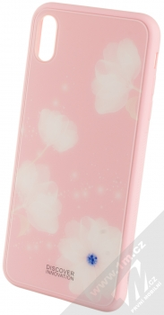 Nillkin Fancy Gift Set sada ochranného krytu, USB kabelu a podložky pro bezdrátové nabíjení pro Apple iPhone XS Max růžová (pink) ochranný kryt