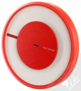 Nillkin Magic Disk 4 základna rychlého bezdrátového Qi nabíjení pro mobilní telefon, mobil, smartphone červená (red) seshora