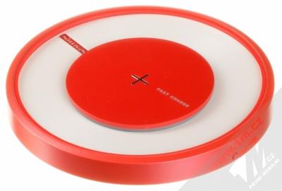 Nillkin Magic Disk 4 základna rychlého bezdrátového Qi nabíjení pro mobilní telefon, mobil, smartphone červená (red)