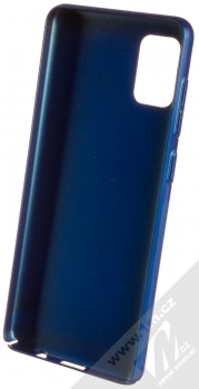 Nillkin Super Frosted Shield ochranný kryt pro Samsung Galaxy A31 modrá (peacock blue) zepředu