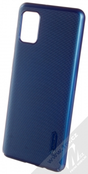 Nillkin Super Frosted Shield ochranný kryt pro Samsung Galaxy A31 modrá (peacock blue)