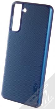 Nillkin Super Frosted Shield ochranný kryt pro Samsung Galaxy S21 Plus modrá (peacock blue)