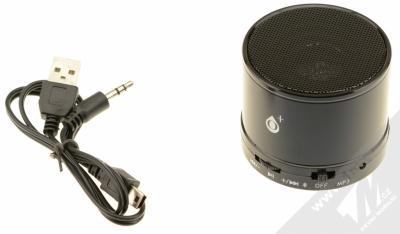 O+ MS100 Bluetooth reproduktor černá (black) balení