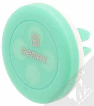Remax RM-C10 magnetický držák do mřížky ventilace v automobilu pro mobilní telefon, mobil, smartphone, tablet bílo zelená (white mint)