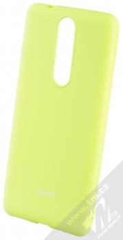 Roar All Day TPU ochranný kryt pro Nokia 5.1 limetkově zelená (lime green)