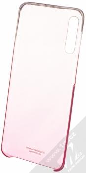 Samsung EF-AA505CP Gradation Cover originální ochranný kryt pro Samsung Galaxy A50 růžová průhledná (pink transparent) otevřené