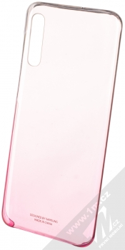 Samsung EF-AA505CP Gradation Cover originální ochranný kryt pro Samsung Galaxy A50 růžová průhledná (pink transparent)
